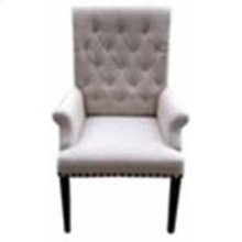 Parkins Cream Upholstered Dining Arm Chair