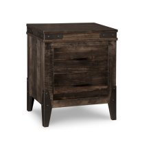 Chattanooga 2 Drawer Night Stand w/Power Management