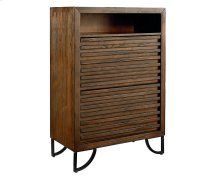 Barndoor Stacked Slat Chest