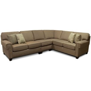 England Furniture2Y00-Sect Yonts Sectional
