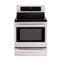 6.3 cu. ft. Capacity Single Oven Electric Range with Infrared Grill and True Convection