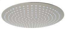 "Solid Brushed Stainless Steel 16"" Round Ultra Thin Rain Shower Head"