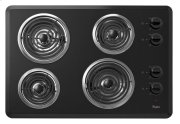 """30"""" Electric Cooktop with Dishwasher-Safe Knobs Product Image"""