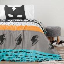 Reversible Comforter \u0026 Pillowcase - 2 Piece Set - 2-Sided Reversible Comforter - Black and White