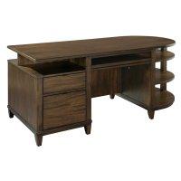 office@home Oak Park Cantilevered Desk Product Image
