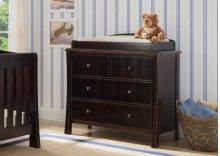 Madisson 4 Drawer Dresser with Changing Top - Black Espresso (907)