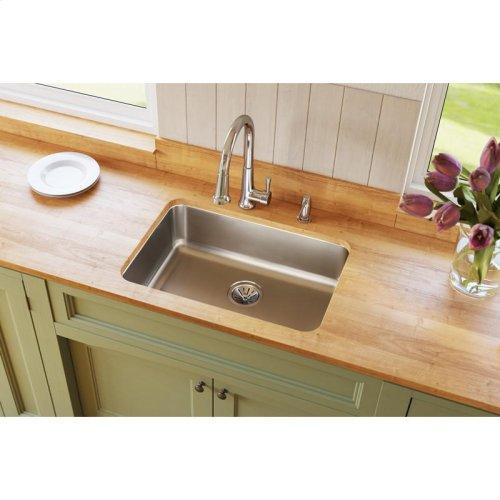 "Elkay Lustertone Classic Stainless Steel 26-1/2"" x 18-1/2"" x 8"", Single Bowl Undermount Sink"
