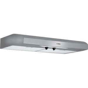 """300 Series, 36"""" Under-cabinet Hood, 280 CFM, Incandescent lights, Stnls"""