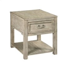 Papillon Rectangular Drawer End Table