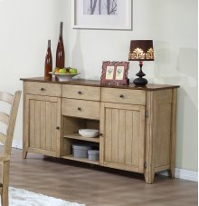 Sunset Trading Brook Sideboard Server - Sunset Trading