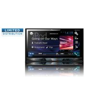 "Multimedia DVD Receiver with 7"" WVGA Display, MIXTRAX , Built-in Bluetooth ® , HD Radio Tuner, SiriusXM-Ready , and AppRadio One"