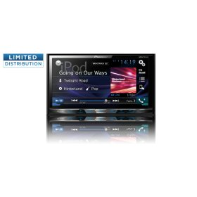 "Multimedia DVD Receiver with 7"" WVGA Display, MIXTRAX "", Built-in Bluetooth ® , HD Radio "" Tuner, SiriusXM-Ready "", and AppRadio One """