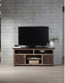 60 Inch Console - Distressed Dark Pine Finish Product Image