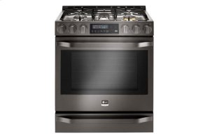 LG STUDIO 6.3 cu. ft. Gas Single Oven Slide-In-Range with ProBake Convection® Product Image