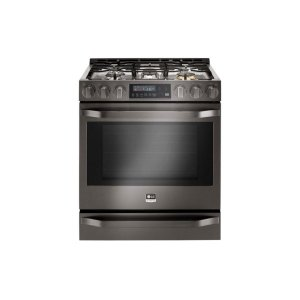 LG AppliancesSTUDIOLG STUDIO 6.3 cu. ft. Gas Single Oven Slide-In-Range with ProBake Convection®