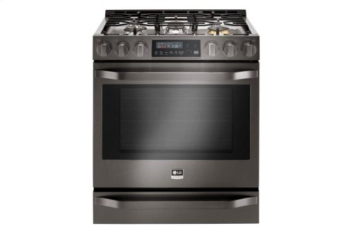 LG STUDIO 6.3 cu. ft. Gas Single Oven Slide-In-Range with ProBake Convection®