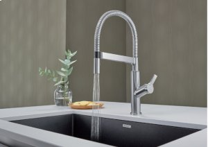 Blanco Solenta Senso Semi-professional Kitchen Faucet - Stainless Finish