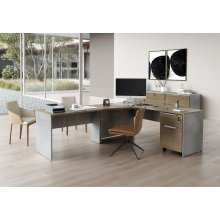 Broome Right Corner Desk Set