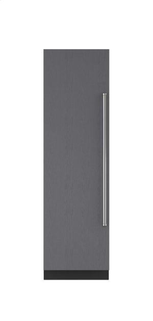 "Sub Zero 24"" Integrated Column Refrigerator/Freezer with Icemaker - Left Hinge.  Open Box"