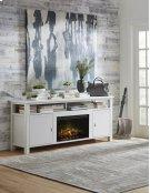 "Brooks 62"" Fireplace Console Product Image"