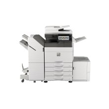 50 ppm B&W and Color networked digital MFP