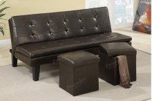 Adjustable Sofa + 2pcs Ottoman
