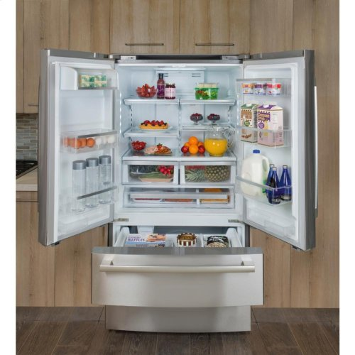 "36"" Counter Depth French Door Bottom Freezer 800 Series - Stainless Steel (Scratch & Dent)"