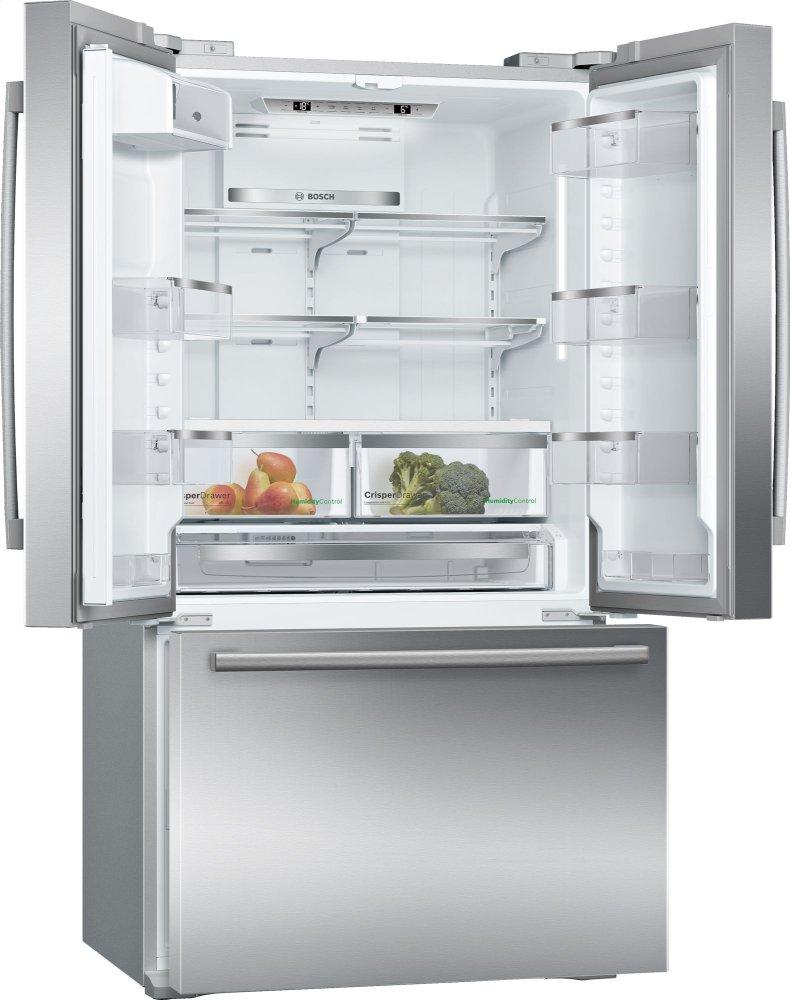 get bosch refrigerators in boston french doors b21ct80sns. Black Bedroom Furniture Sets. Home Design Ideas