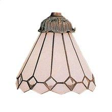 Mix-N-Match 1-Light Ceiling / Fan Glass Only 97061