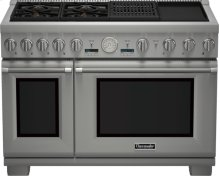 48 inch Professional Series Pro Grand Commercial Depth Dual Fuel Range PRD484NCGU