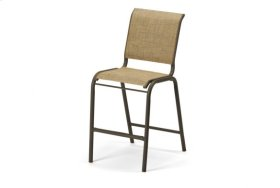 Balcony Height Stacking Armless Chair