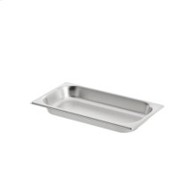 Half Size Stainless Steel Pan - Unperforated GN 114 130