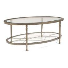Atrium Oval Coffee Table