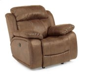 Como NuvoLeather Power Glider Recliner