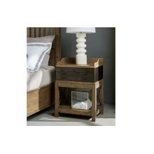 Metalworks Bedside Chest