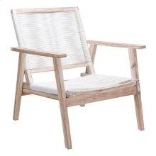 South Port Arm Chair White Wash & White