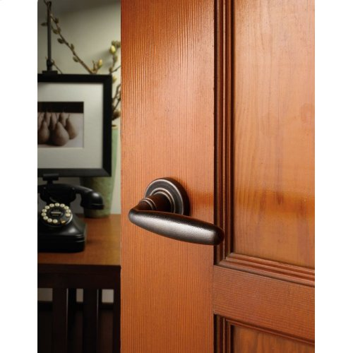 Distressed Oil-Rubbed Bronze 5106 Estate Lever
