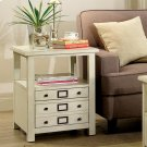 Sullivan - Side Table - Country White Finish Product Image
