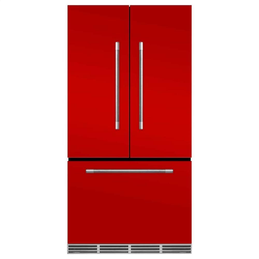 Marvel Mercury French Door Counter-Depth Refrigerator - Marvel Mercury French Door Refrigerator - Scarlet  sc 1 st  East Coast Appliance & MMCFDR23SCR in by Marvel in Virginia Beach VA - Marvel Mercury ...