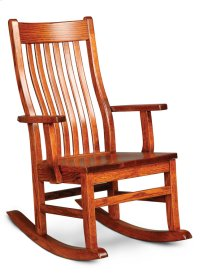 Urbandale II Arm Rocker, Wood Seat Product Image
