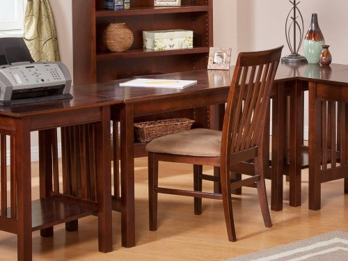 Mission Work Table in Walnut