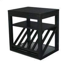 Chairside Table (black)