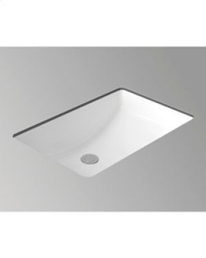 "White MUSE Undermount Lavatory 20 ""x 13"""