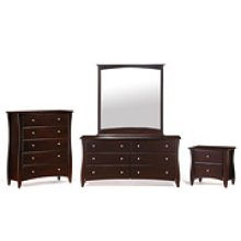 CLOVE CHEST-DARK CHOCOLATE FINISH