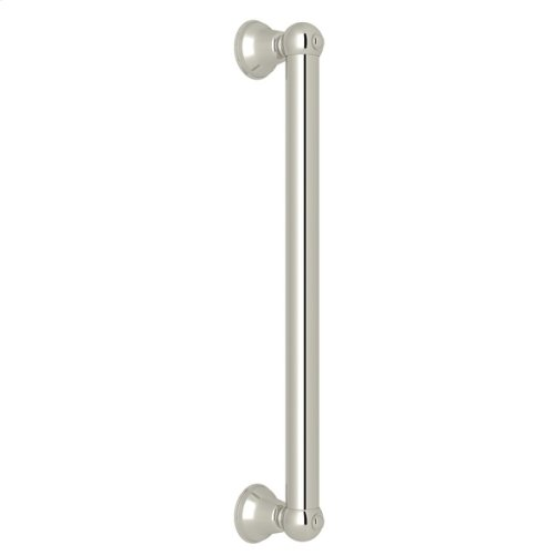 "Polished Nickel 18"" Decorative Grab Bar"