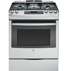 "GE® 30"" Slide-In Front Control Gas Range-New Out Of The Box!"