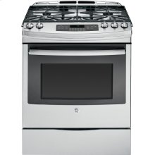 "GE® 30"" Slide-In Gas Range- Out of Carton"