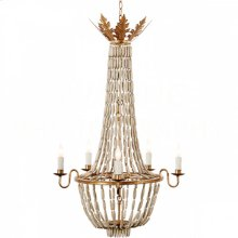 Bilzen Gray Chandelier