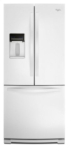 [CLEARANCE] 30-inch Wide French Door Refrigerator with Exterior Water Dispenser - 19.7 cu. ft. Clearance stock is sold on a first-come, first-served basis. Please call (717)299-5641 for product condition and availability.