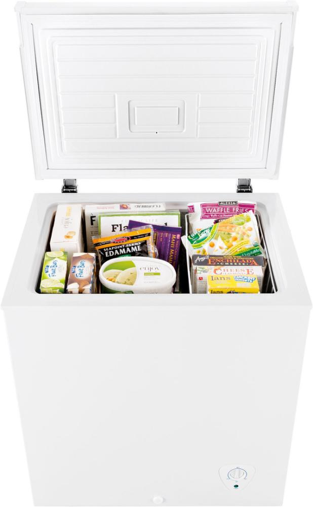 hidden additional 50 cu ft capacity chest freezer